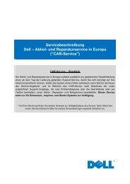 Servicebeschreibung Dell – Abhol- und Reparaturservice in Europa ...