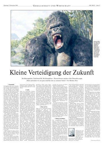 Artikel lesen (PDF-Format) - Matthias Horx