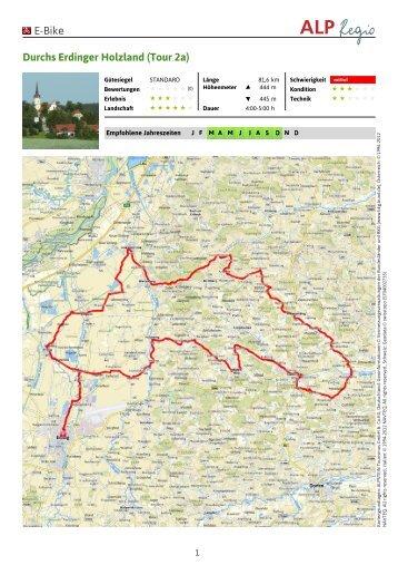 E-Bike Durchs Erdinger Holzland (Tour 2a)