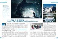 Wasser - alpinjournal