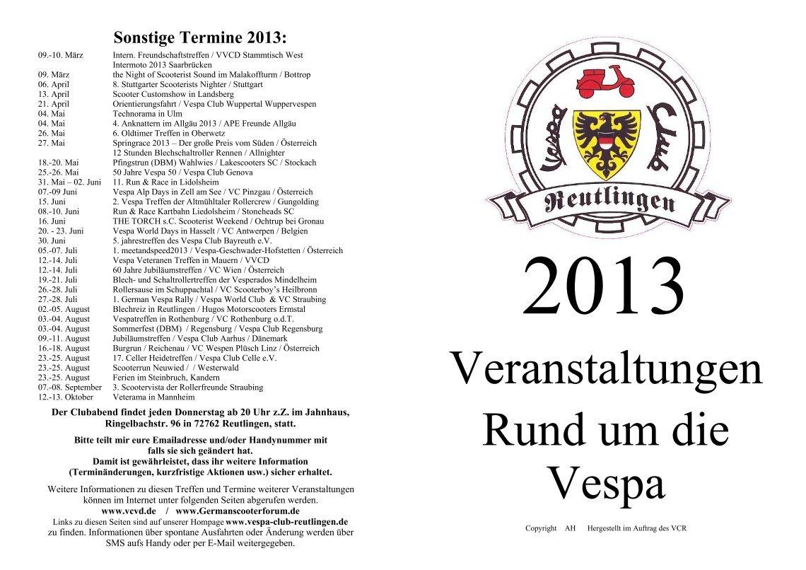 2 free Magazines from VESPA.CLUB.REUTLINGEN.DE