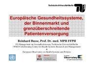 EU-Gesundheitsmarkt - Fachgebiet Management im ...