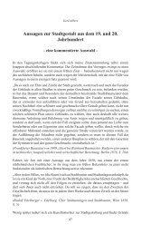 Aussagen zur Stadtgestalt aus dem 19. und 20. Jahrhundert - DASL ...