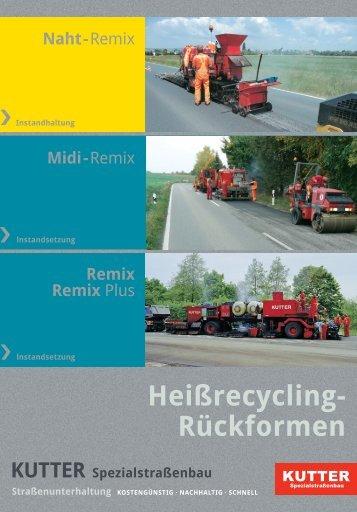 Remix - KUTTER Spezialstraßenbau GmbH & Co. KG
