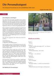 Ausgabe vom Dezember 2010