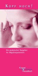 0001-0207 Patientenbroschüre Migräne Kopf hoch.indd - Krewel ...