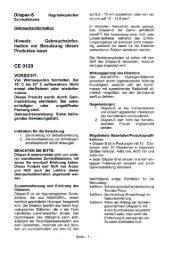 Dilapan-S - GYNEMED Medizinprodukte GmbH & Co. KG