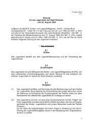 V:\Ortsrecht\5.01.Satzung für das Jugendamt.wpd - Erkelenz