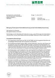 Befragung: Änderung der Futtermittelverordnung und der ...
