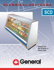Classical Deli Case.eps - General Refrigeration