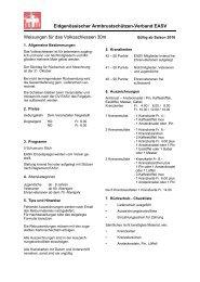 Antrag 2 (Volksschiessen 30 m) - EASV