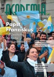 Papst Franziskus - Cartellverband der katholischen deutschen ...