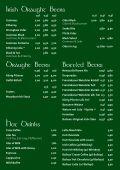 Speisekarte & Getränkekarte - Killybegs Irish Pub - Page 6
