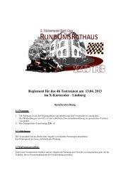 Reglement für das 4h Testrennen am 13.04. 2013 im X ... - halver-net