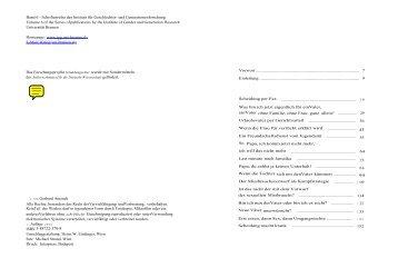Band 6 - Schriftenreihe des Instituts für Geschlechter- und ...