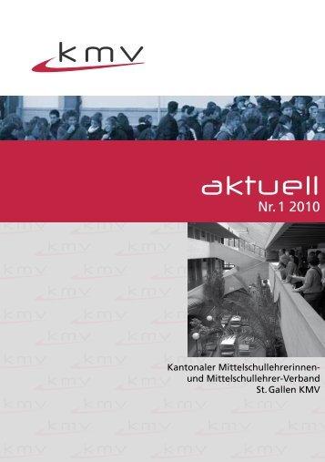 kmv_aktuell_0110 - KMV St. Gallen