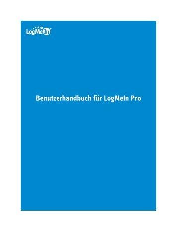 Benutzerhandbuch für LogMeIn Pro - IT-Administrator