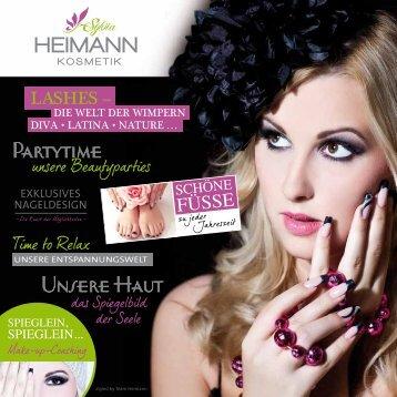 Partytime Unsere Haut - Heimann Kosmetik