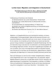 Leviten lesen: Migration und Integration in ... - Klaus J. Bade
