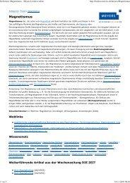 Definition Magnetismus - Meyers Lexikon online - Kompetenzinitiative
