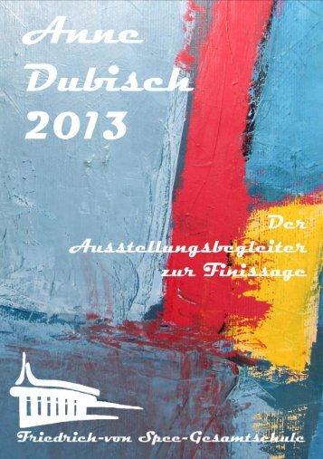 Ausstellungsbegleiter (pdf) - Friedrich-von-Spee-Gesamtschule ...