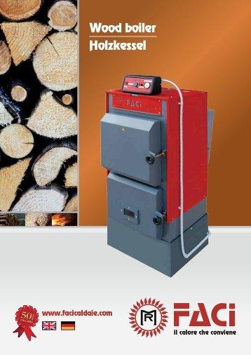 Wood boiler Holzkessel