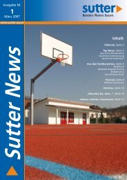 Sutter News, Ausgabe Nr. 1 (März 2007)