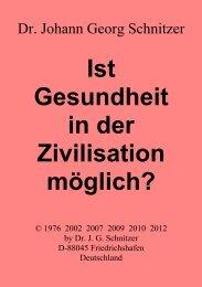 ePDF (PDF)-Format - Dr. Schnitzers Geheimnisse der Gesundheit