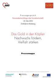 Das Gold in den Köpfen - AWO Bezirksverband Niederrhein eV