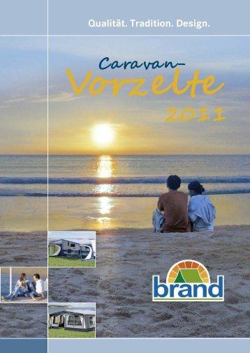 Vorzelt-Katalog 2011 - Brand Zelte