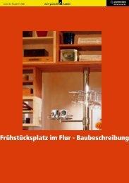 Frühstücksplatz im Flur bauen (pdf, 1,9 MB) - LBS