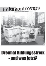 PDF-Download Linkskontrovers September 2010 - Die Linke.SDS