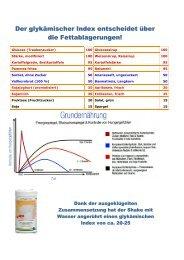 Der Glykämische Index