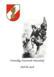 Chronik 100 Jahre FF Diesendorf