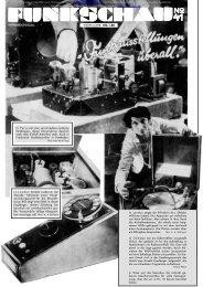 Funkschau 4. Jahrgang 1931, Heft 41 - Radiomuseum.org