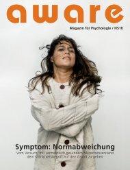 Symptom: Normabweichung - aware – Magazin für Psychologie