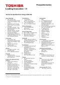 Spielbolide mit dynamischem Rot: Toshiba fokussiert mit dem ... - Page 6