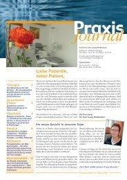 Ausgabe 4 / 2008 - Praxis für Hämatologie und Onkologie