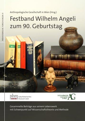Festband Wilhelm Angeli zum 90. Geburtstag - Naturhistorisches ...