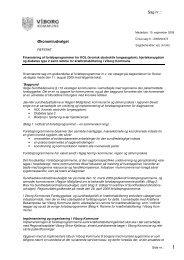 Sag nr.: Økonomiudvalget - Viborg Kommune