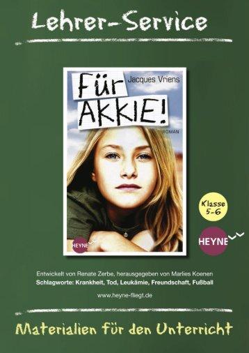 Für Akkie« von Jacques Vriens (PDF) - Random House