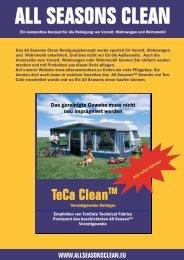 Teca Cleantm - Brand Zelte