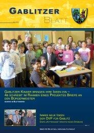Gablitzer Blatt 06-2013 - Gablitz - Volkspartei Niederösterreich