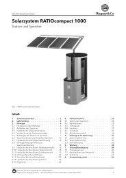 Solarsystem RATIOcompact 1000 - TST Solarthermie Online Shop
