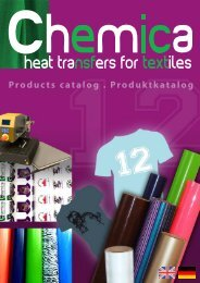 Products catalog . Produktkatalog - Chemica