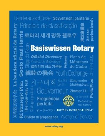 Basiswissen Rotary (595-DE) - Rotary International