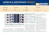 MärkTe & ZerTIfIkATe weekly - RBS