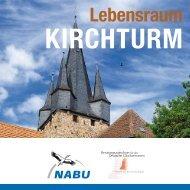 Leporello Lebensraum Kirchturm - Nabu