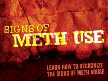 The Signs of Meth