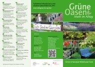 Flyer Gärten - Naturpark Wildeshauser Geest